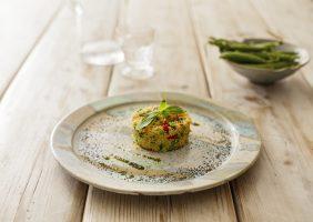 Cous Cous con verdure al basilico